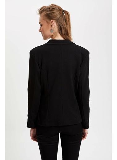 DeFacto Blazer Ceket Siyah